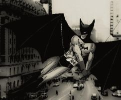 The Bat-Man - Batman of the 1930's by stick-man-11