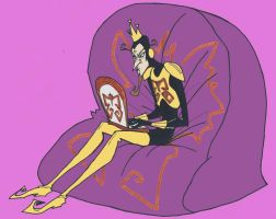 One Evil Blogger by eeza