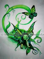 Green Fairy by Tiger-tyger