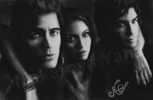 Paul,  Nina,  Ian. by Makarova17