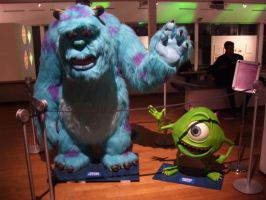 Mike e Sulley by Tremotino