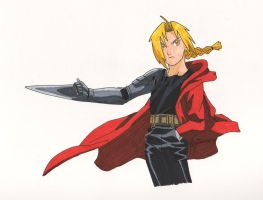 Edward Elric by Dracona