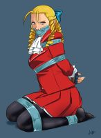 Karin in distress by lostonezero
