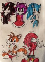 The sonic Group by missakura
