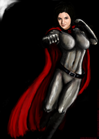 Soviet-Superwoman Gina Carano by mishai by zenx007