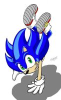 Sonic the Hedgehog by 5Hedgehog5