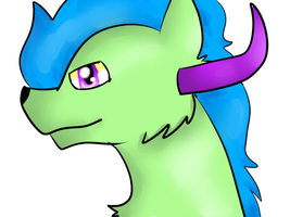 My Trying to Practice Paint Tool Sai :1 by HoodieVixen