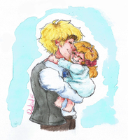 APH - Daddy's Little Girl by Rainbowspark88