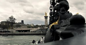 Pont Alexandre III by Momez