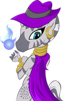 Zecora The Caped Crusader Color by megadrivesonic