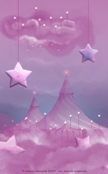 The Hidden Circus - ginee by childrensillustrator