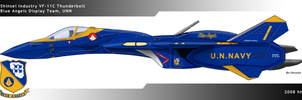 Blue Angels Thunderbolt by Wolfman-053