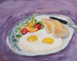 Food Painting by J311o-the-egg