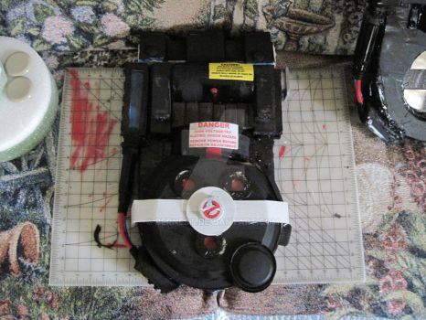 Almost Done  ghostbusters wii consept proton pack by BERNEST