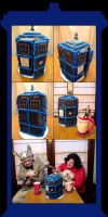 Gingerbread TARDIS by RoccoBertucci