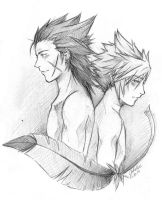 You are my living legacy. FINAL FANTASY  VII by BlackCherryCookie