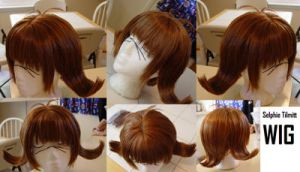 Selphie Wig from FF VIII by taiyowigs