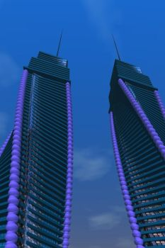 Twisting Buildings and Towers 2017 by Waleedkarjah