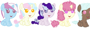 MLP Shipping Adopts by liz72098