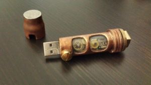 Steampunk USB STICK 4 1.5 by Steampunkdave