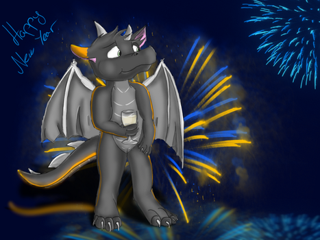 Dragon Me (Happy New Year Edition) by WolfFoxHybrid