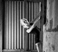 Climbing the Silo by FireflyPhotosAust