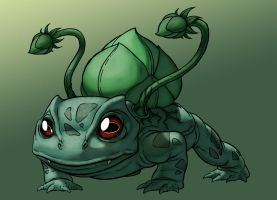 Bulbasaur by monstrous64