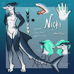 Nicki Reference Sheet by Xecax