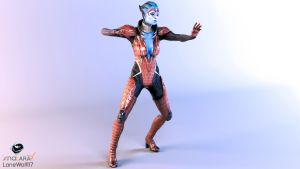 Studio Series: Samara (Biotic Stance) by LoneWolf117