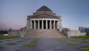 Shrine of Remembrance by Grayda