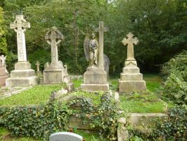 Highgate crosses by photodash