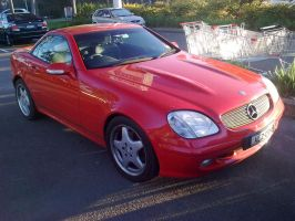 Mercedes Benz SLK 320 AMG by TricoloreOne77