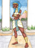 Pharaoh Hatshepsut of Kemet by DaBrandonSphere