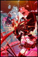 Kill la Kill - Death Match by raging-akujiki