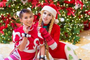 Holiday Fighters by MeganCoffey
