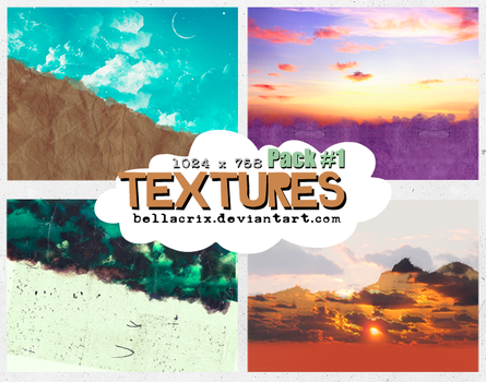 Textures Pack #1 by Bellacrix