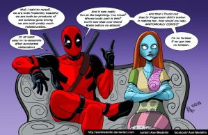 TLIID 277. When Deadpool met Sally by AxelMedellin