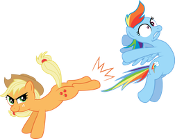 Dash's been Given the Boot by Firestorm-CAN