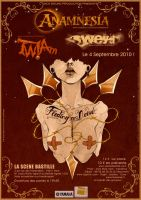 TWIAm Live Flyer by junglecookie