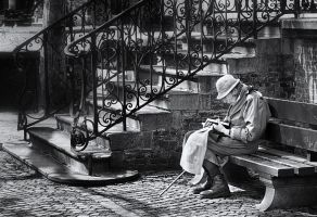 the reader by VaggelisFragiadakis