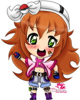 :PE: Chibi Maggie Colored by Hinachuu