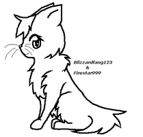 Another FREE Cat Line Art by Firestar999