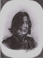 Severus Snape by Shadowtat