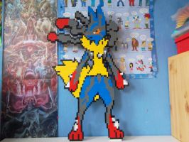 LEGO  Mega-Lucario by ProfMadness