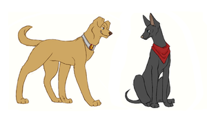 Merlin Dogs by FourDirtyPaws
