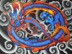 Dragon painting by Pallat