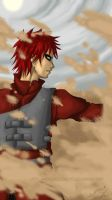 Gaara - The SandMaster by AndarielleHime