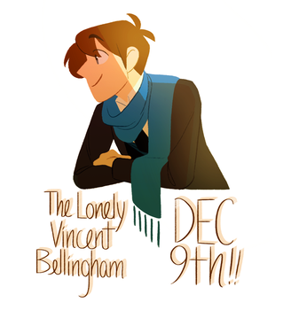 The Lonely Vincent Bellingham promo by Tiuni