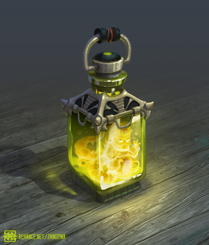 Magic bottle by PVersus