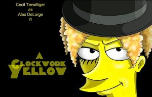 A Clockwork Yellow by Nevuela